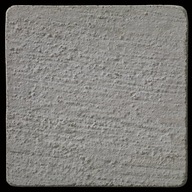 """This is a photo of an actual 3"""" x 3"""" concrete tile sample integrally colored with Davis Colors' Dune (pigment # 6058) with a broom finish. This video reproduction is just for ideas. Please finalize your color selection from our printed color card, hard tile samples or job site test."""