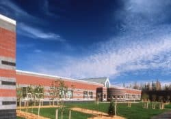 Alpenglow Elementary School Design Created Using Davis Colors Concrete Pigments