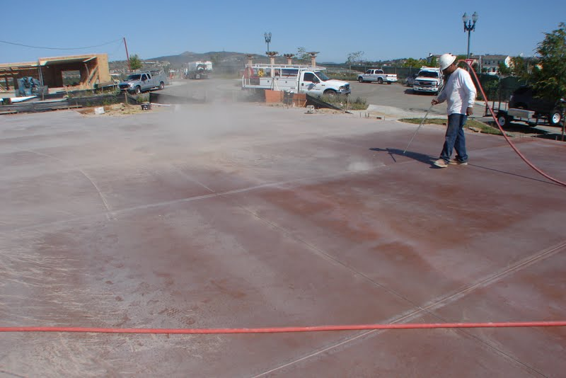 Davis Colors Concrete Project For Trader Joe's In Carlsbad, California